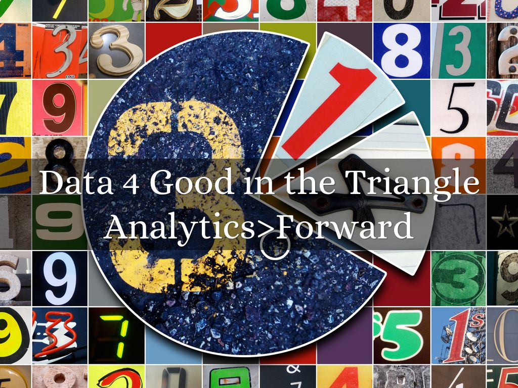 Data 4 Good in the Triangle
