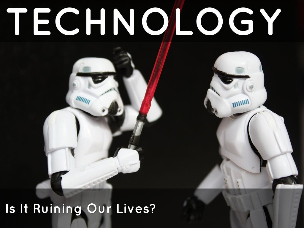 essay about technology in life