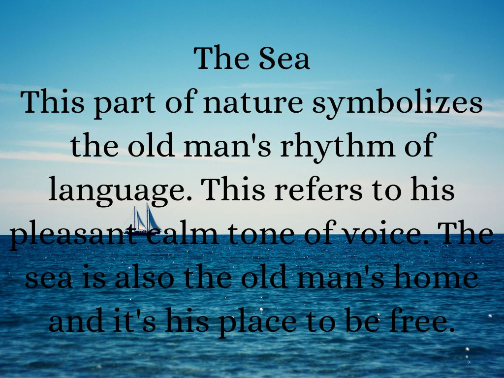 nature in the old man and the sea