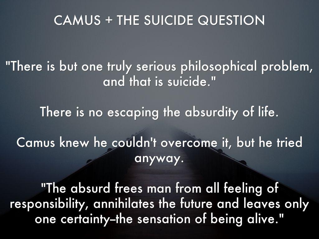 camus suicide