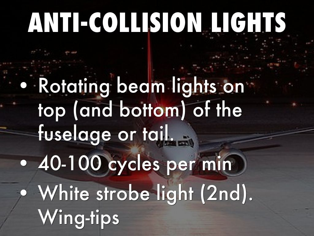 ANTI COLLISION LIGHTS