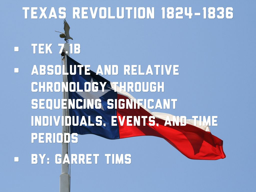 texas revolution timeline by garret tims