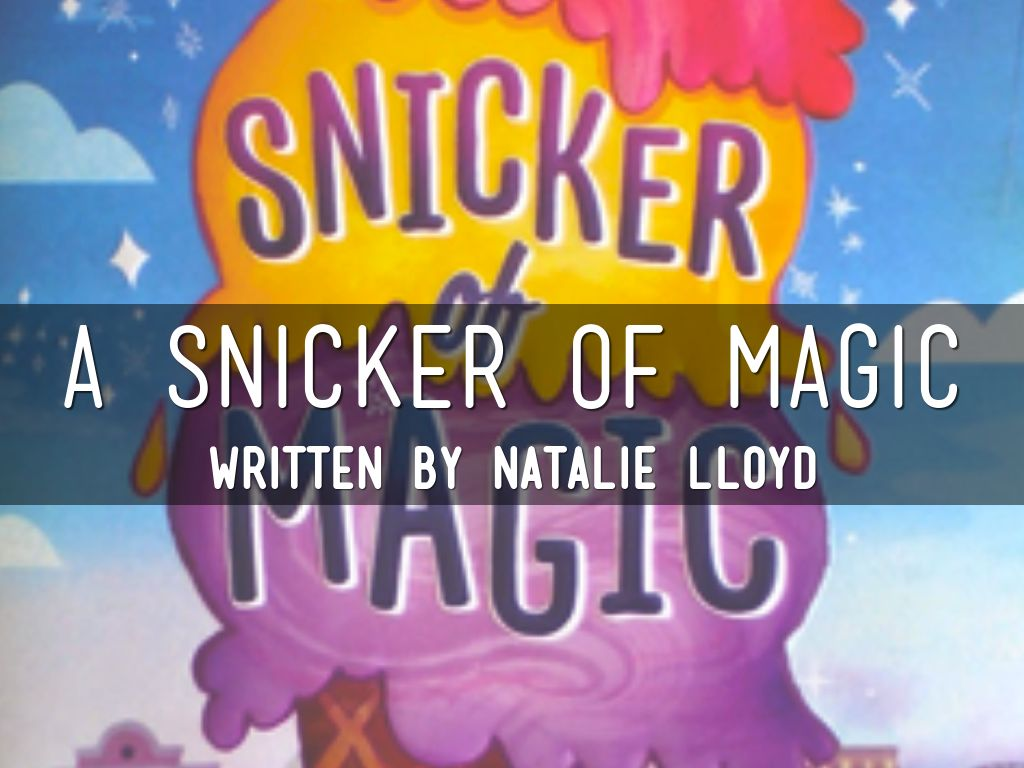 A Snicker of Magic by kalliecampbell