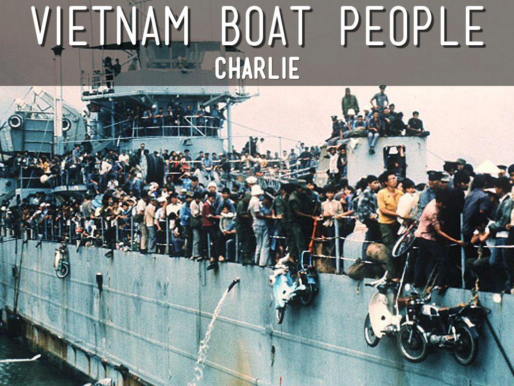 vietnam boat people by shawnalai
