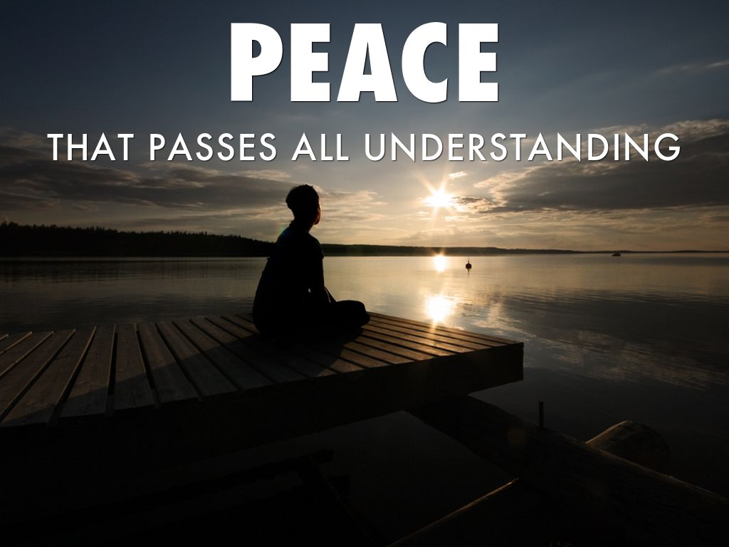 Image result for peace that passes all understanding