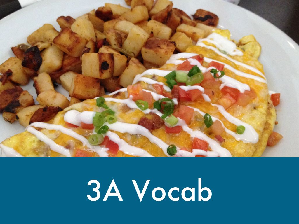 3A Vocab