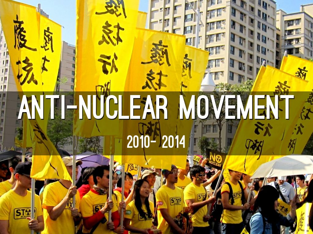 anti nuclear movements In 1975, the union of concerned scientists (started in 1968) launched a petition opposing nuclear power and received over 2,000 signatures from scientists[1.