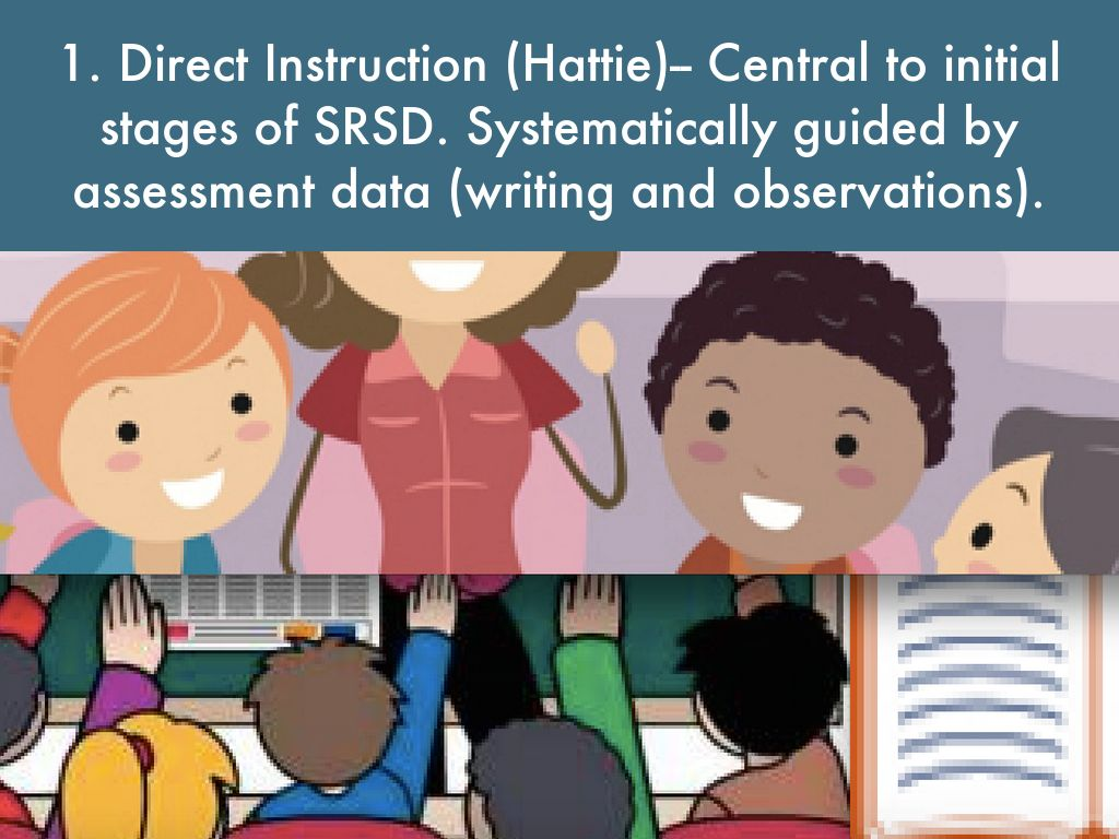 Evidence Based Practices Writing Instruction By