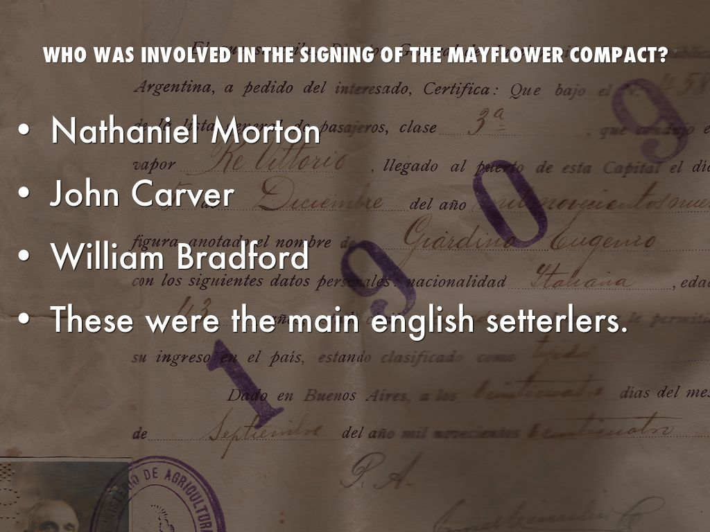 william bradford and the mayflower compact William bradford was a separatist religious leader who sailed on the 'mayflower' and soon afterward bradford and the other male travelers signed the colonial contract known as the mayflower compact william seward was a new york governor and us senator before serving as secretary.