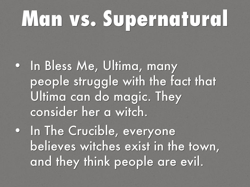man vs nature examples