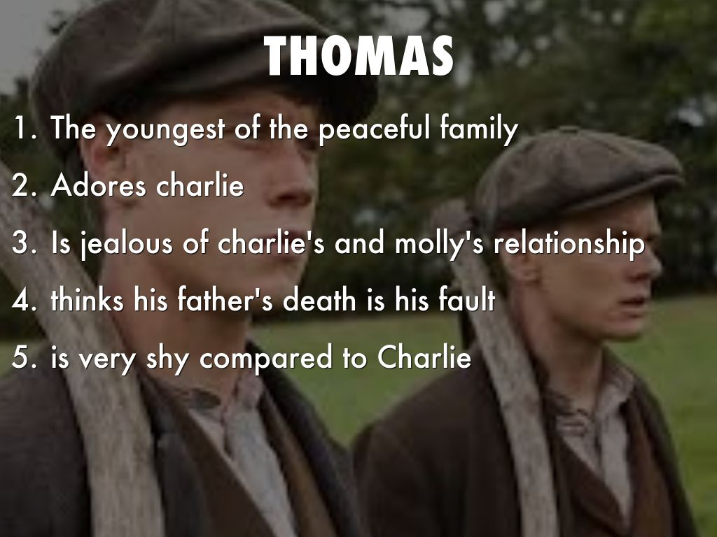 private peaceful tommo and charlies relationship with god