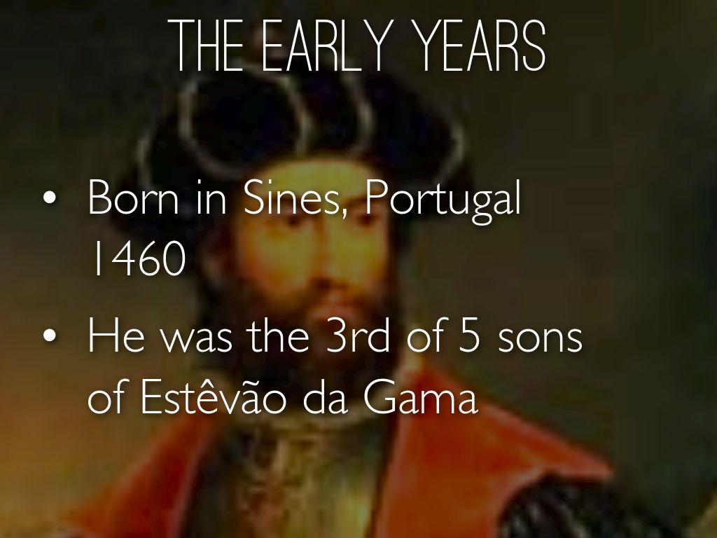vasco da gama life history