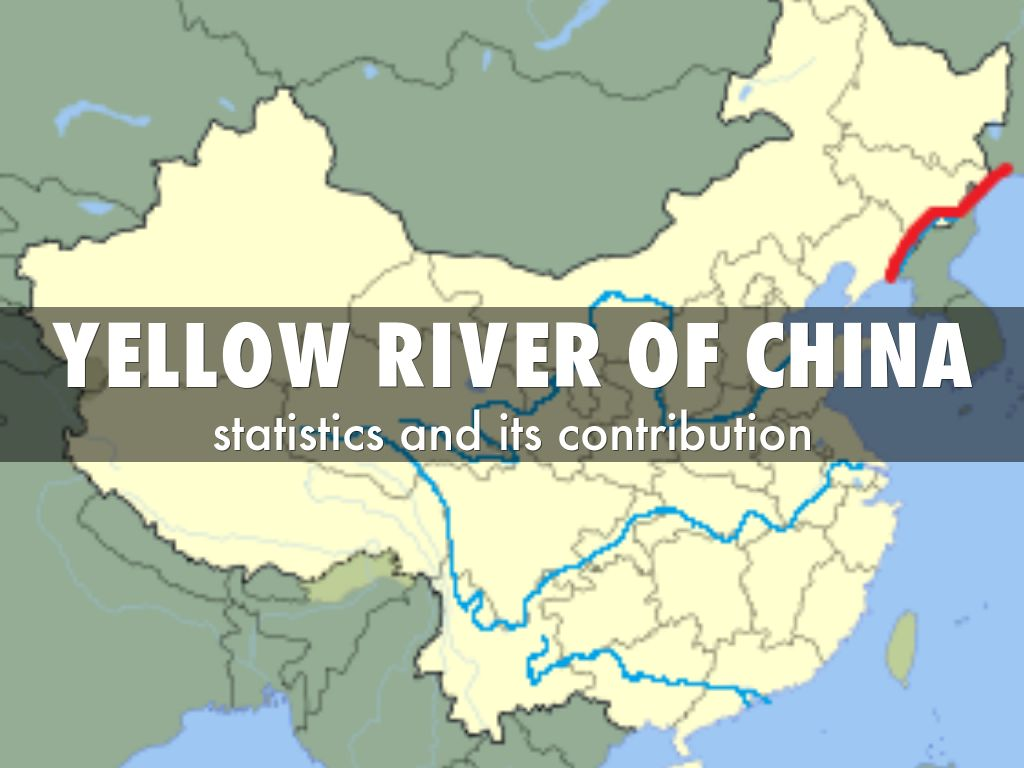 Yellow river of china by bhavik reddy yellow river of china sciox Choice Image