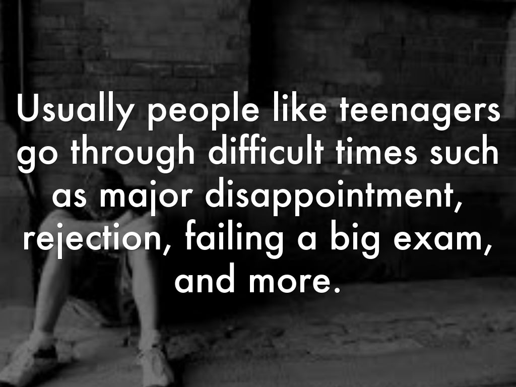 the problem of the teenage suicide Adolescent suicide about this another perceive suicide as a permanent answer to problems that are more often situations can make a teen consider suicide.