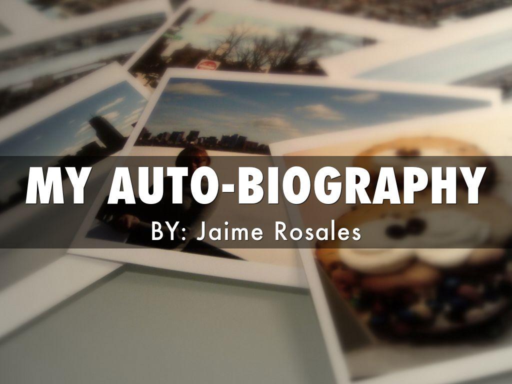 My Auto-Biography