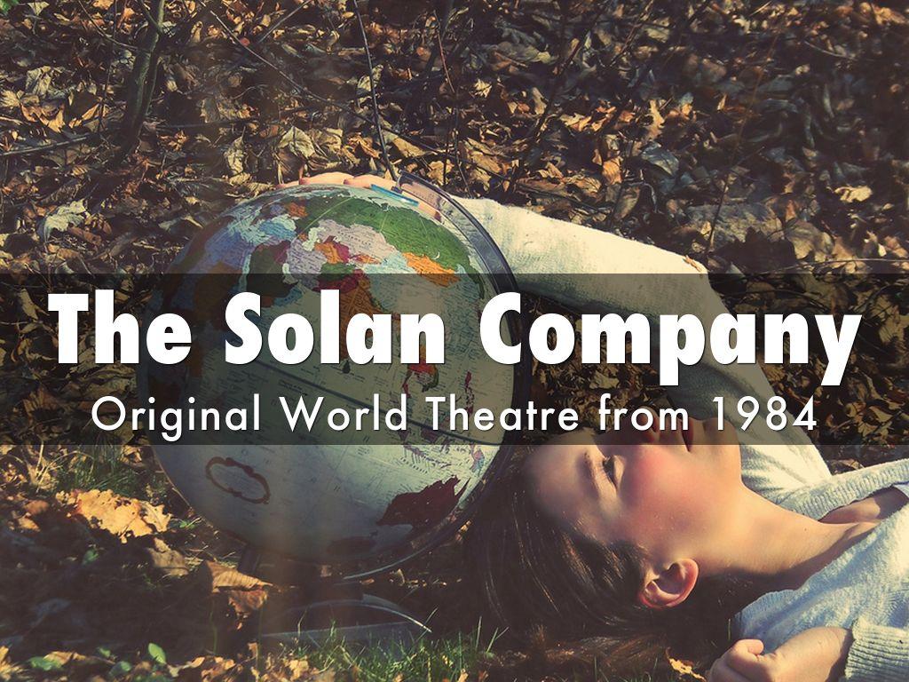 THE SOLAN COMPANY