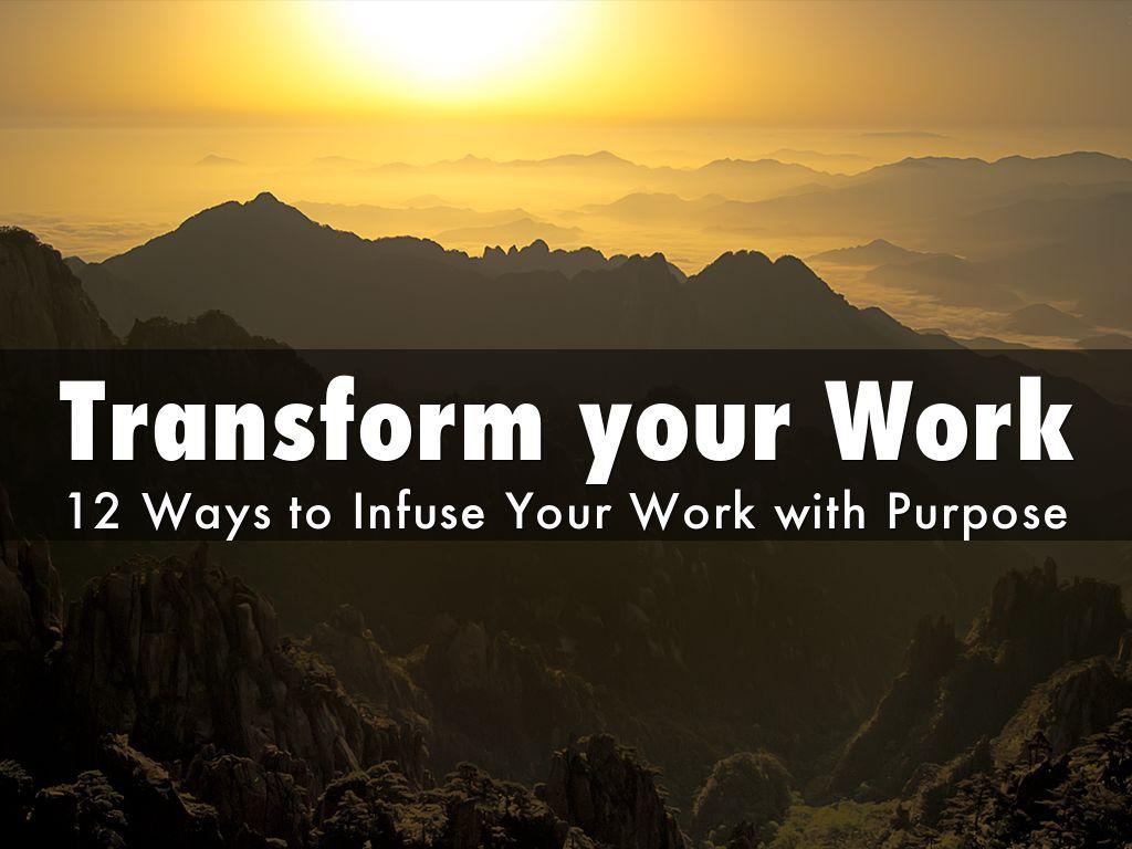 Copia de Transform your Work