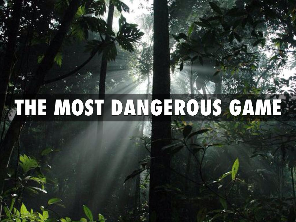 outline the most dangerous game The most dangerous game is a short story about a hunter named sanger rainsford who is marooned on an island after accidentally falling off a yacht and is a highly.