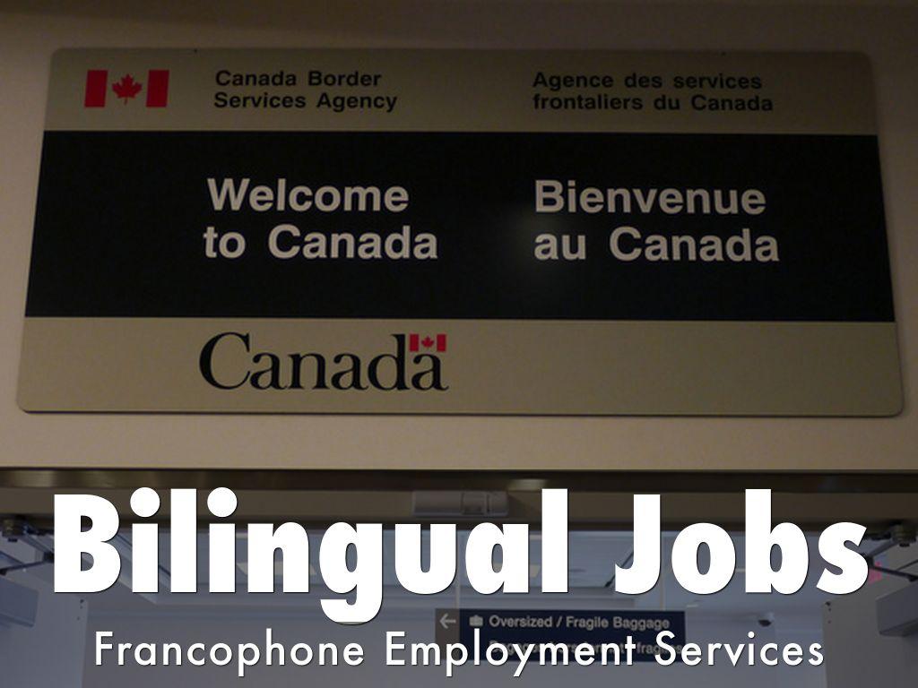 Bilingual Jobs