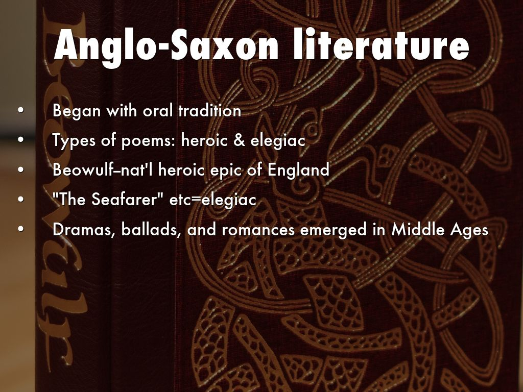 beowulf the anglo saxon epic hero and poem The epic beowulf is the most well-known anglo-saxon poem, and is a form of poetry called the epic.