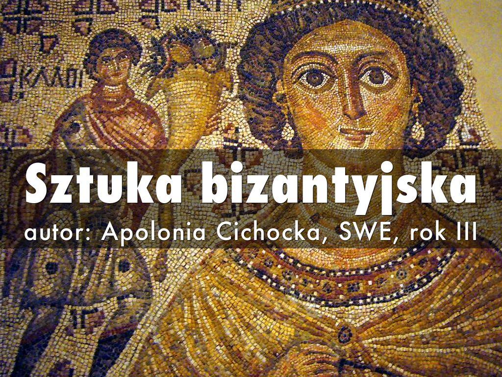 Sztuka bizantyjska