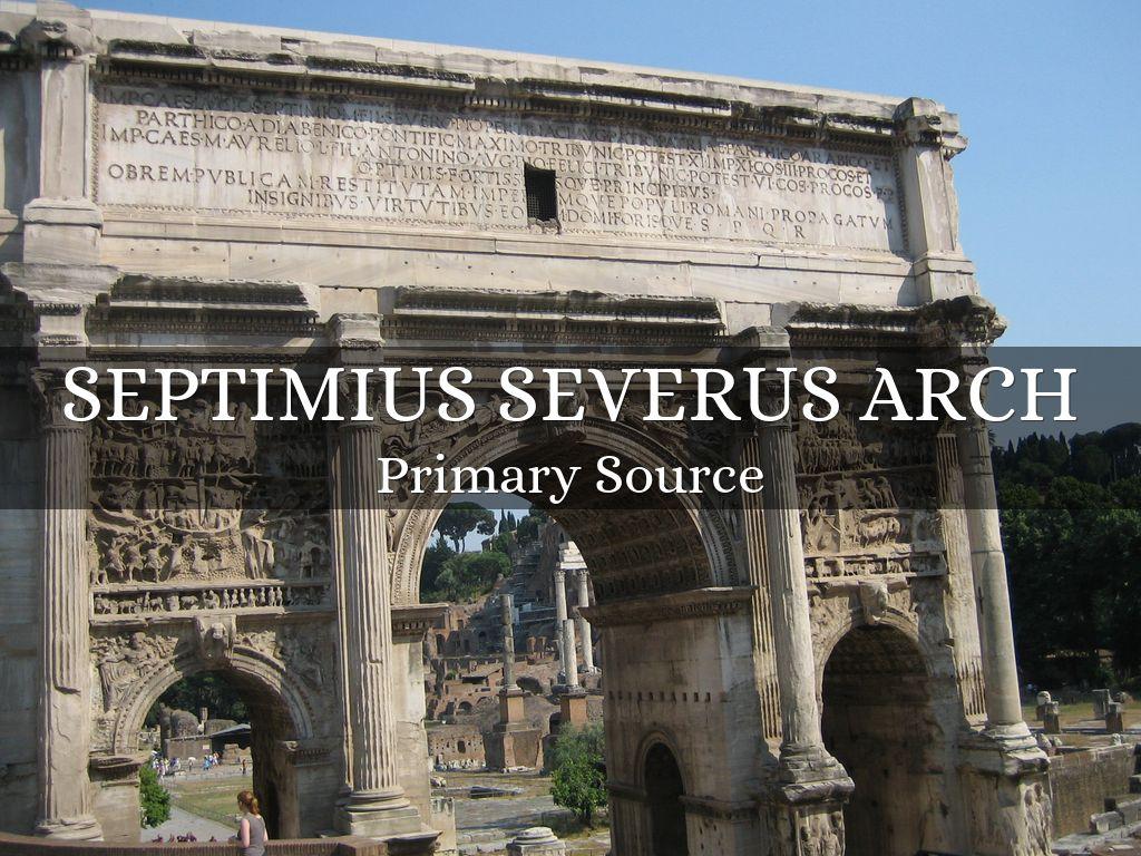 septimius severus essay