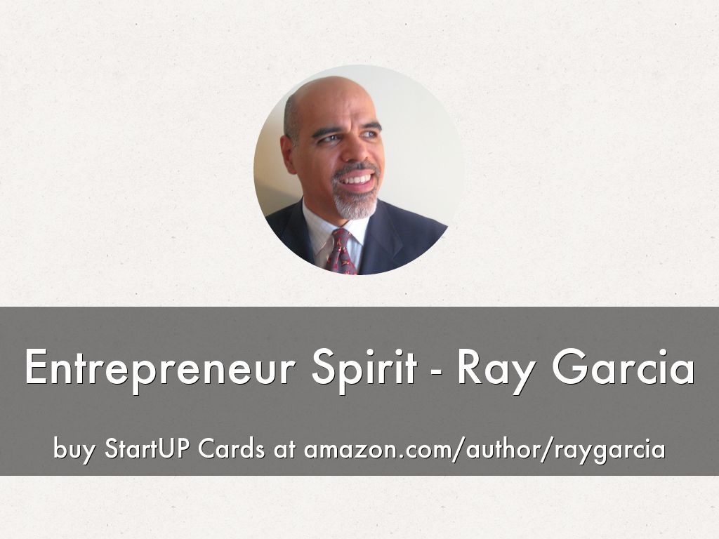 Entrepreneur Spirit