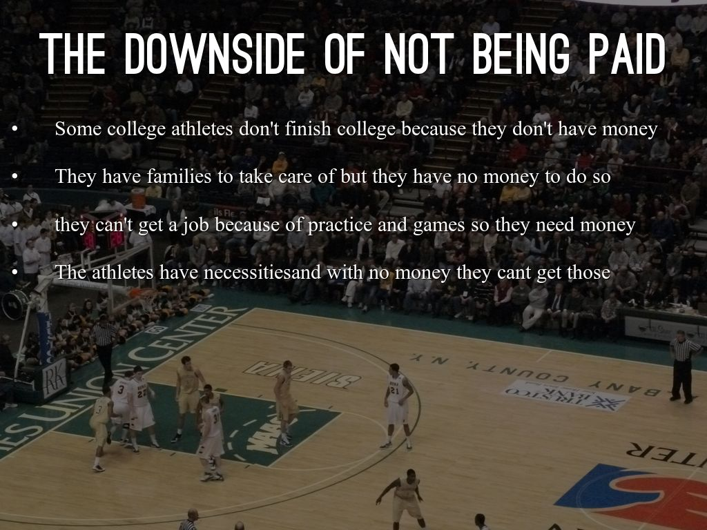 why college athletes should be paid Of course, having well-paid college athletes opt into or out of the classroom may be good for them, and fair, but it can hardly be said to be for the benefit of the wider college population, the .