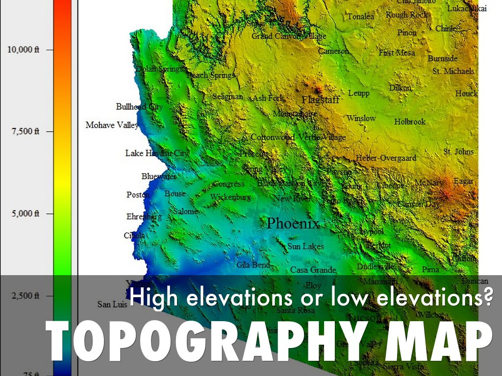 3 Regions of Arizona by Rebeckah Winans