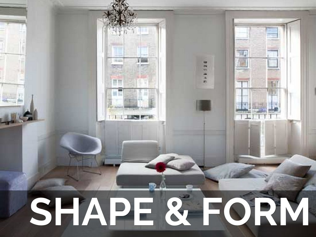 Shape And Form In Design : Interior design basics by myles cummings