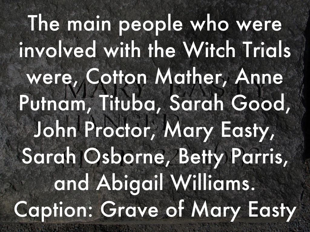 a discussion of the main causes of the witch hunts Free witch hunt papers the main cause of the witch hunts was the church inflicting fear upon the common and discussion of the factors and effects of the.