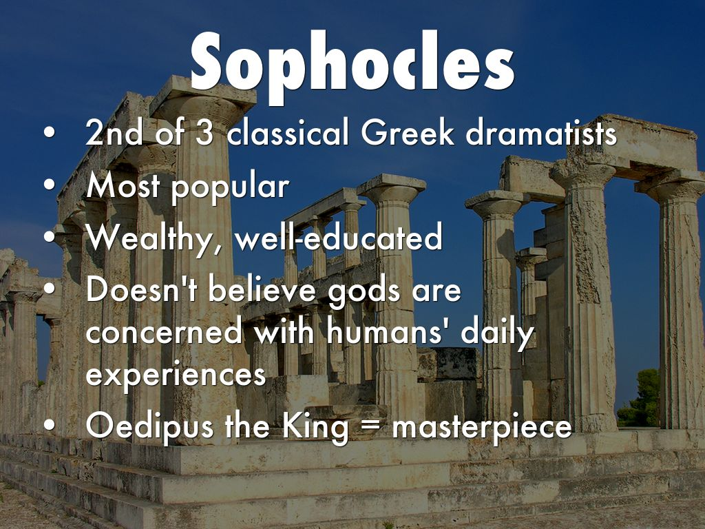 oedipus the king 4 Summary in this ode, the chorus wonders at the prophet's accusation that oedipus is the murderer of laius as loyal subjects, they are horrified and confused s.