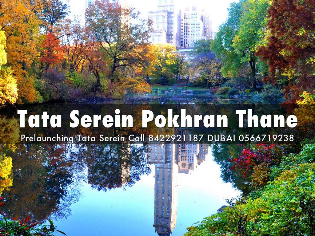 Tata Serein Pokhran Thane