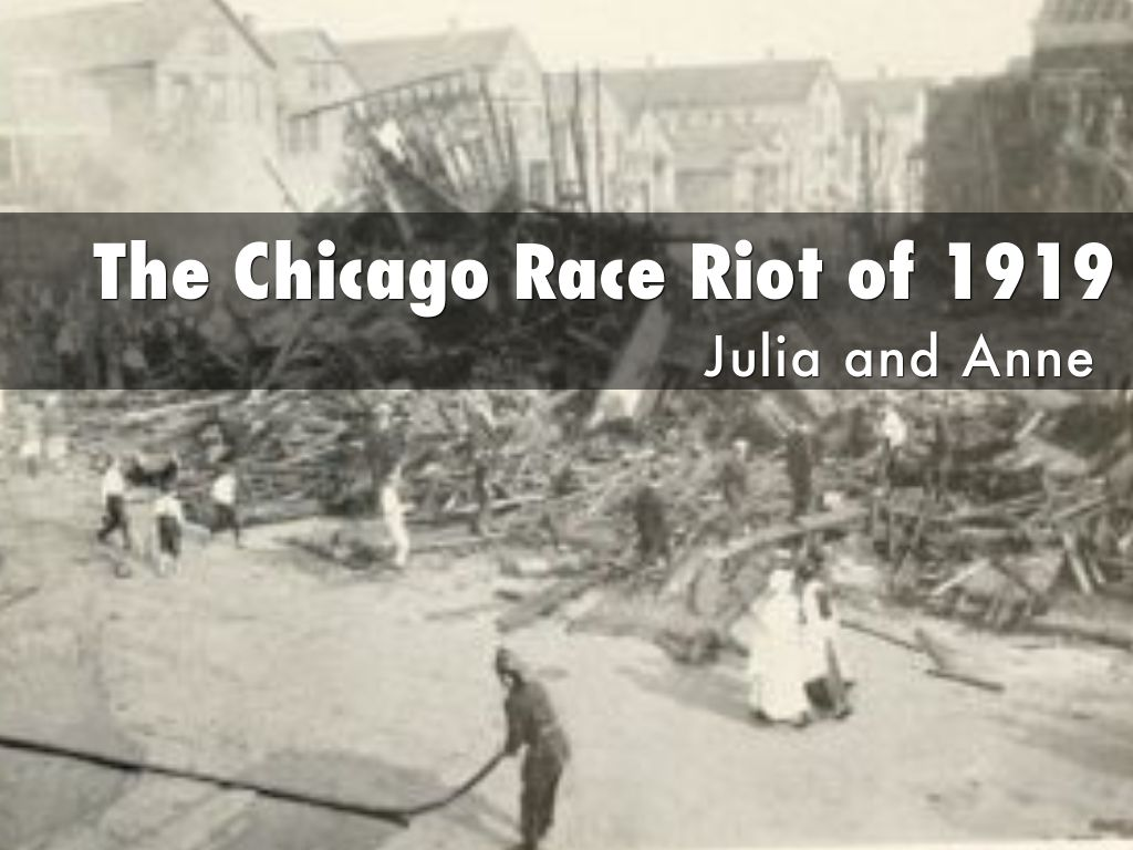"""the difference between race riots of 1917 and 1919 The new negro from 1919 to the post-world war i race riots in which afro-americans in the drastic difference between the """"old crowd."""