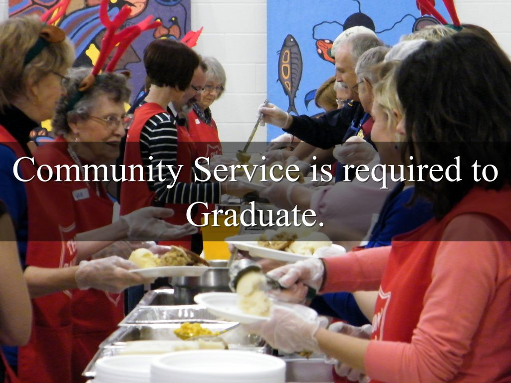 community service as a graduation requirement Community service for teens is becoming a graduation requirement in most high schools here's how to make that volunteer time really mean something to your child.