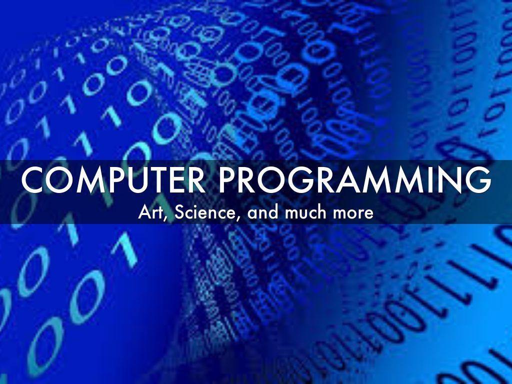 computer programming essay