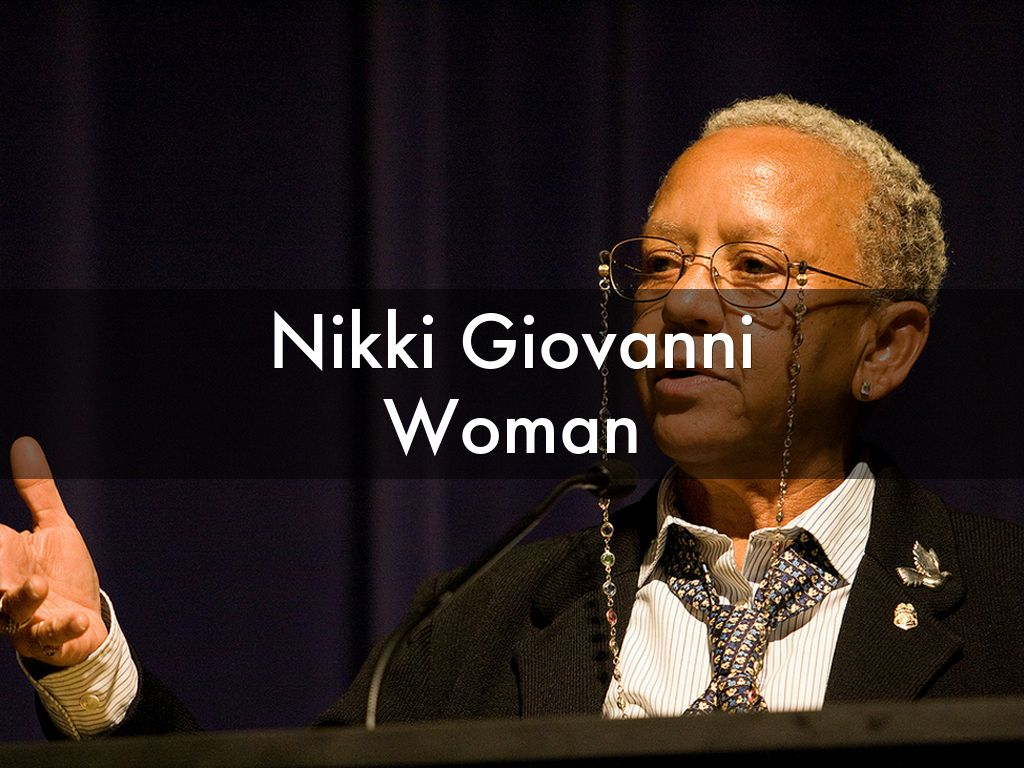 Nikki Giovanni Woman