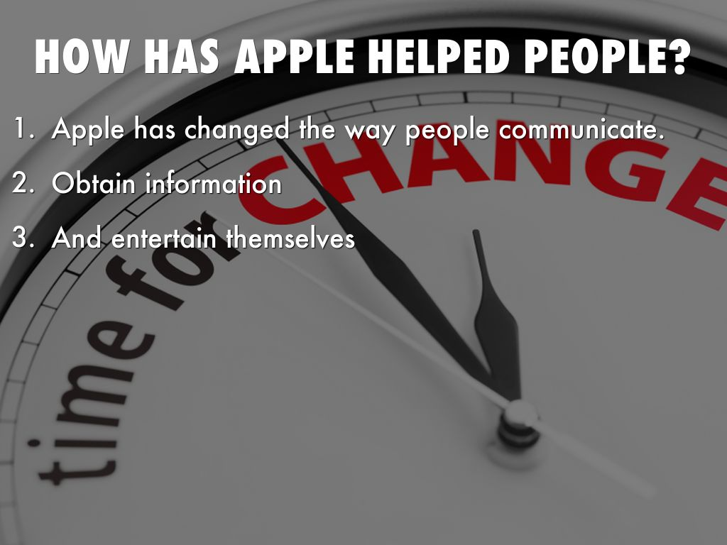 how internet has change the way people communicate Technology has changed our lives by technology changed the ways of communication today we have mobile, internet  in old times people have less electric.