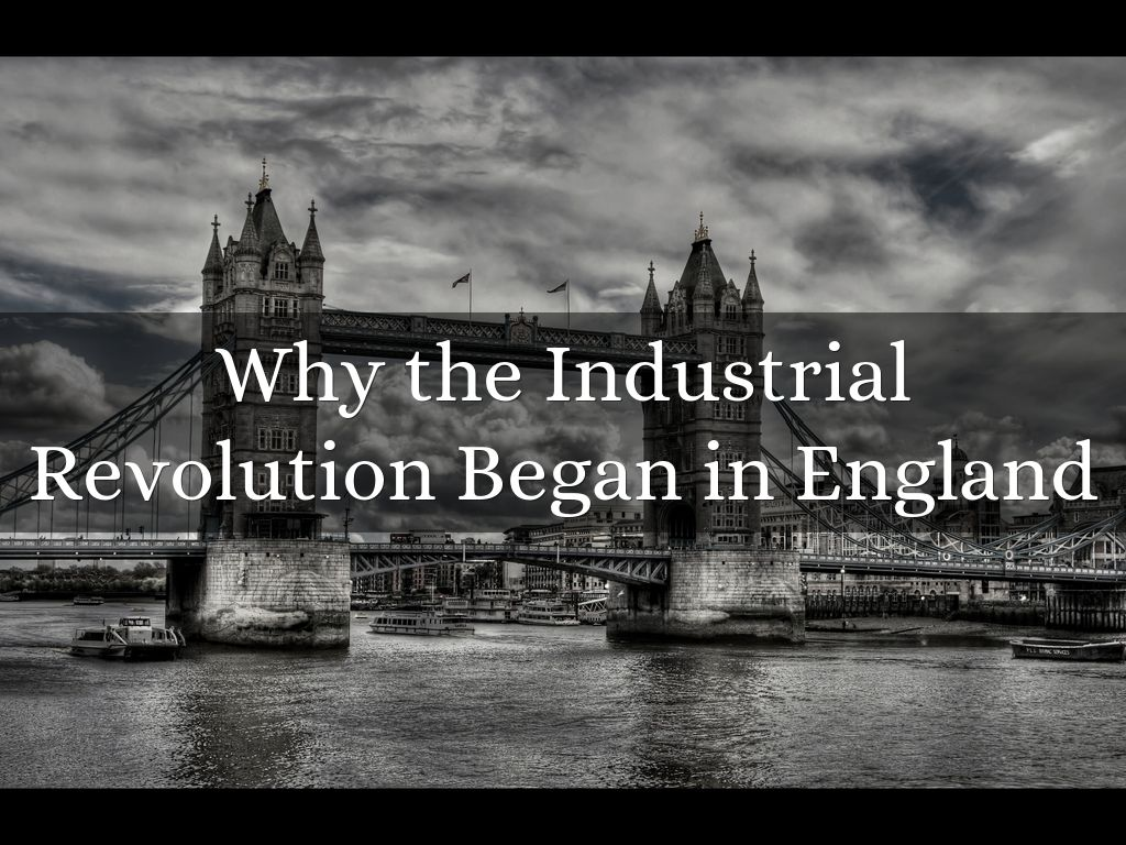 the industrial revolution began