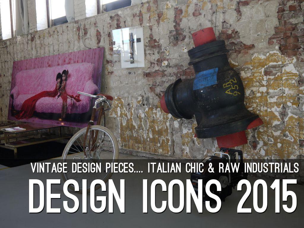 DESIGN ICONS 2015