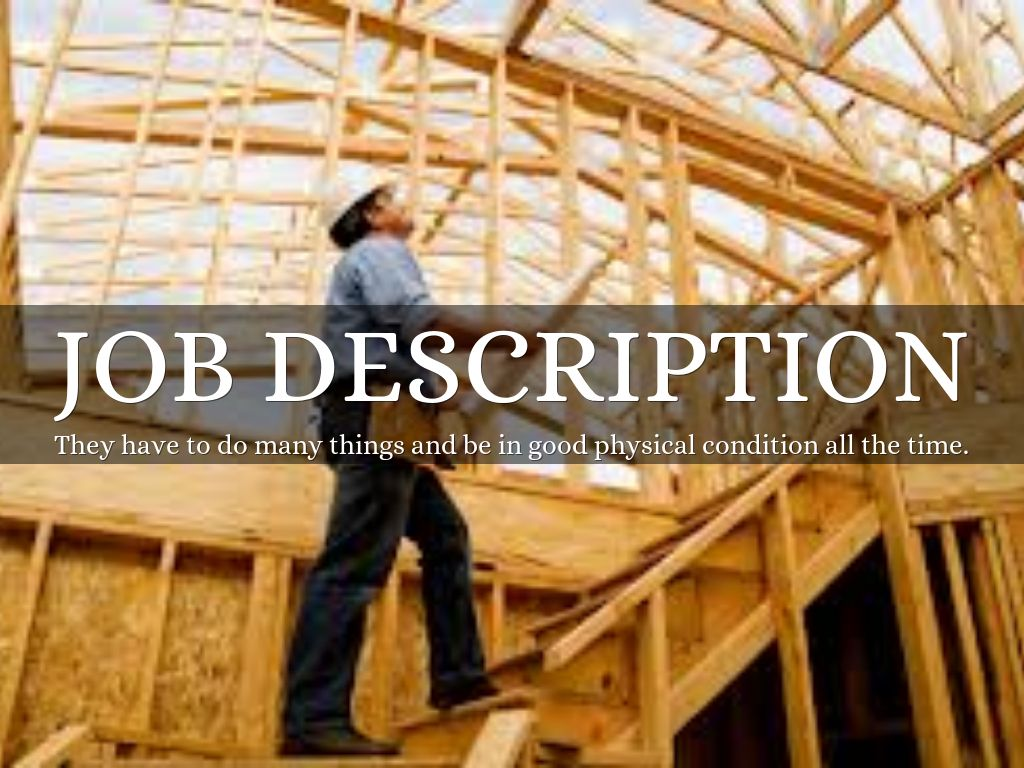 Job Description  Construction Worker Job Description