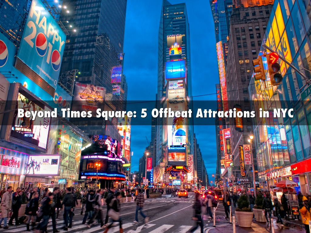 Pedro Torres Ciliberto - Beyond Times Square: 5 Offbeat Attractions in NYC
