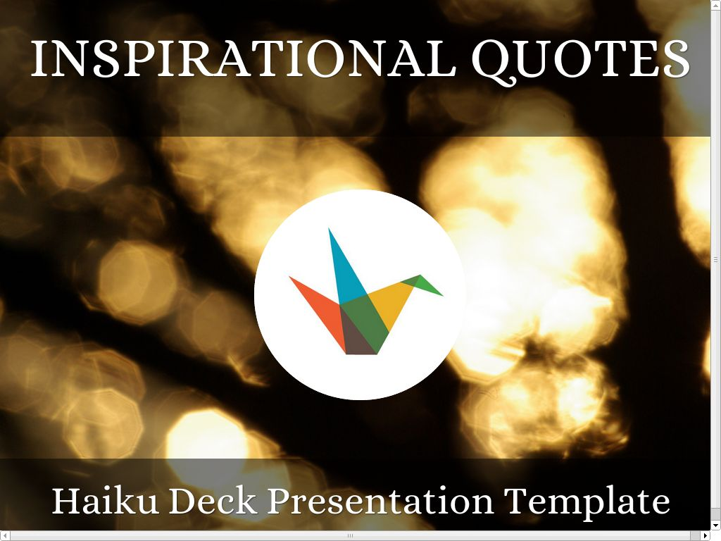 Copia de Inspirational Quotes Presentation Template