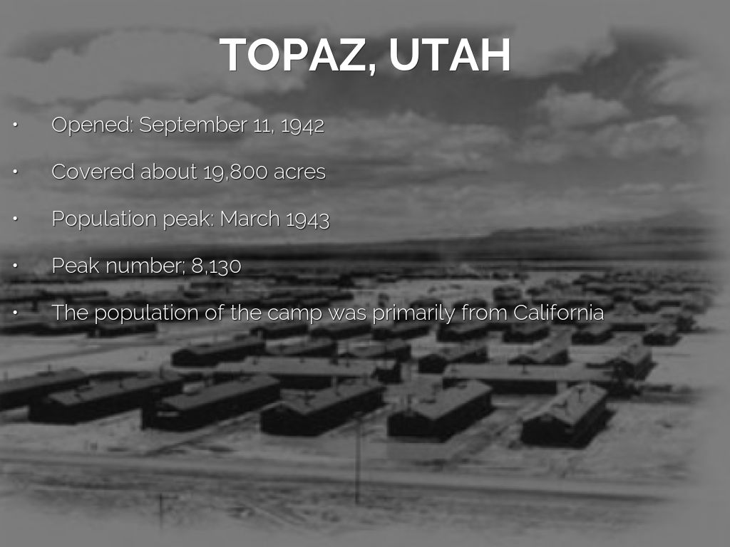 ese internment camps by jessica mora topaz utah
