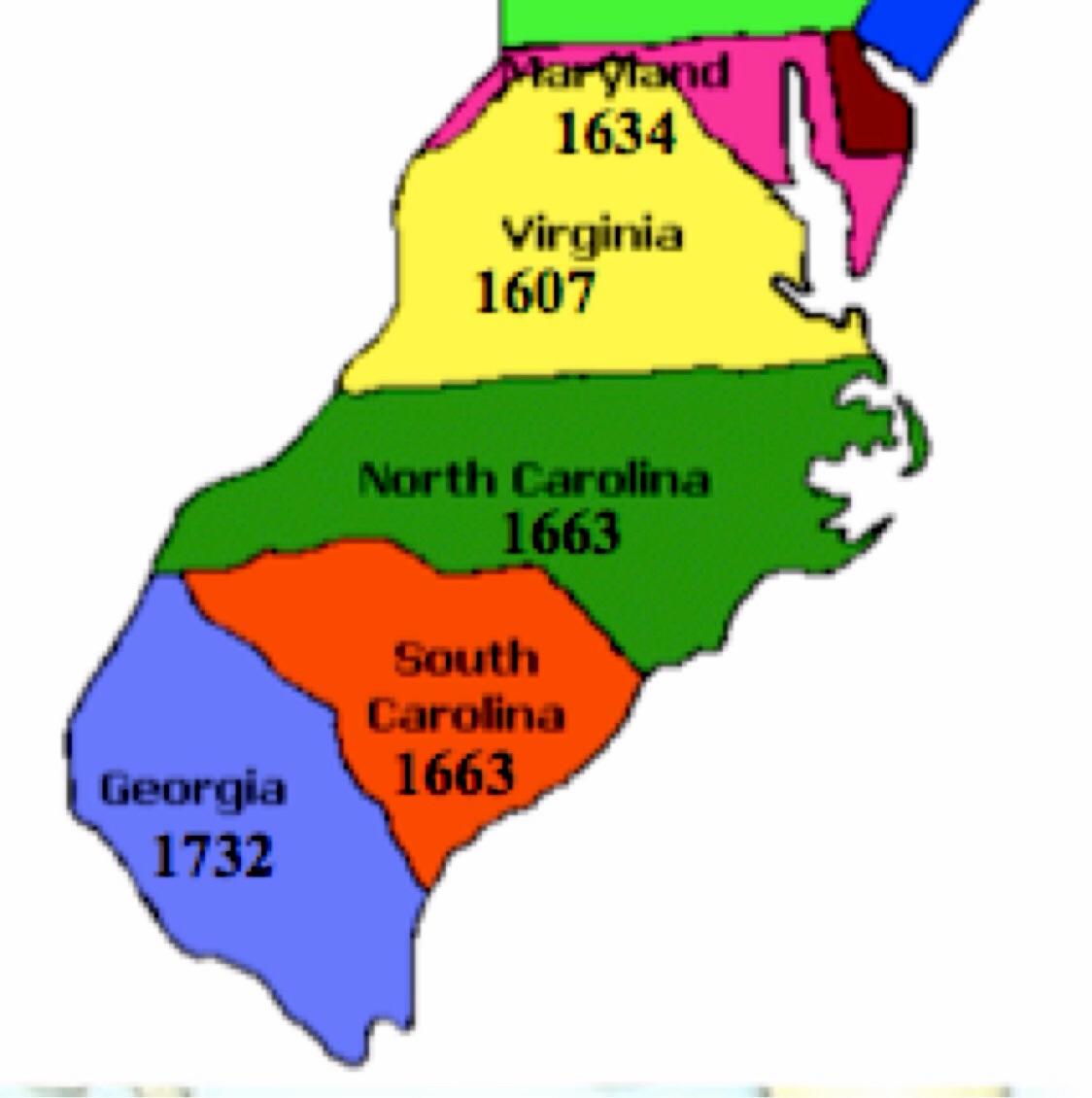 southern colony georgia 1600 1800