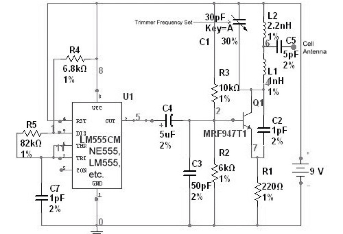 3g Security By Kitt Tientanopajai Mobile Jammer Circuit Diagram