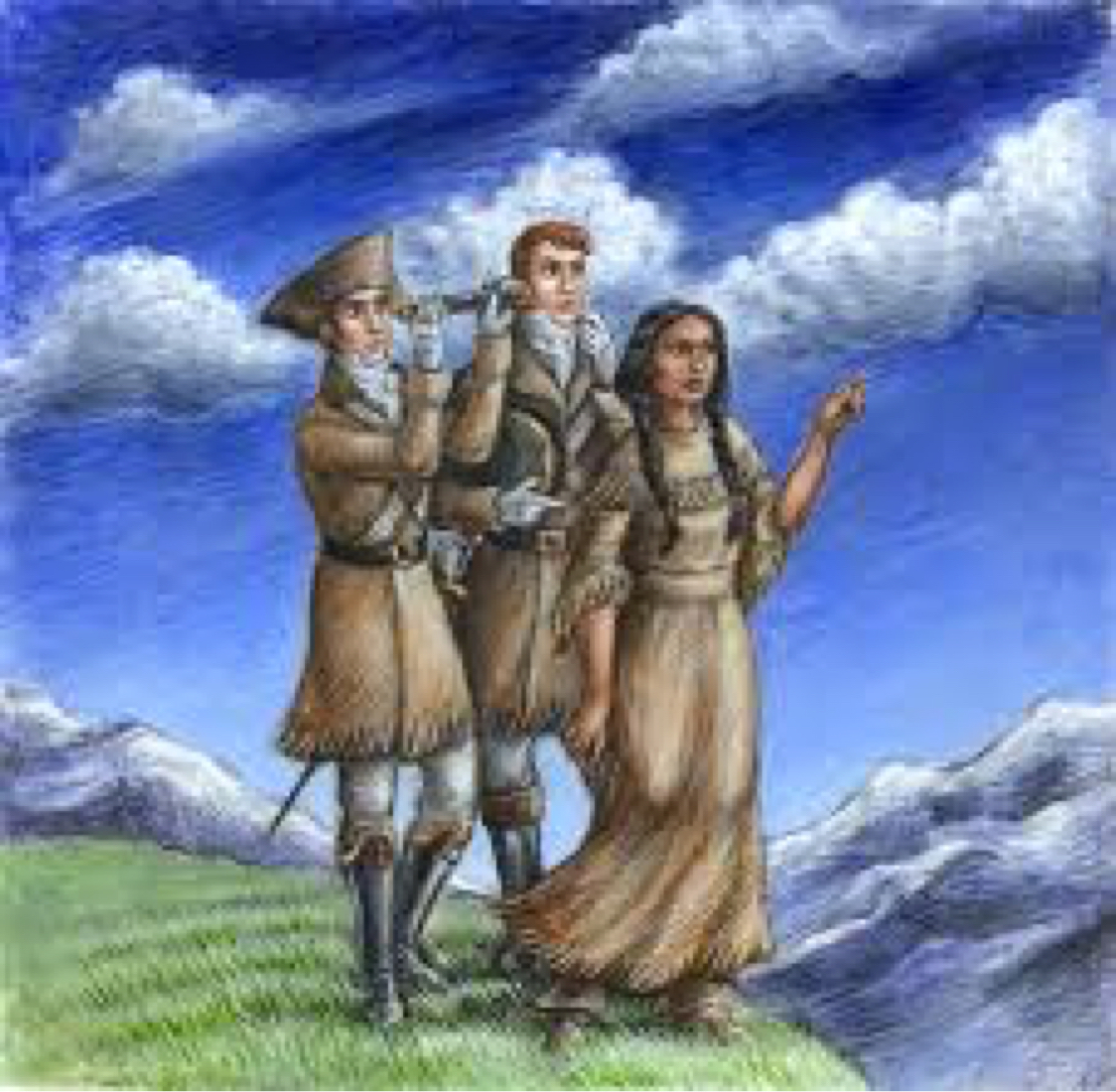 sacagawea on the lewis and clark expedition by ashley