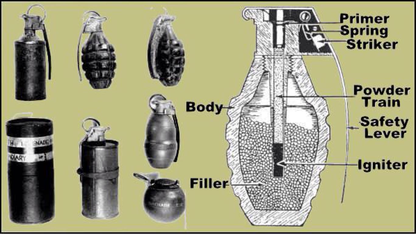 WW1 grenade by K Lerio