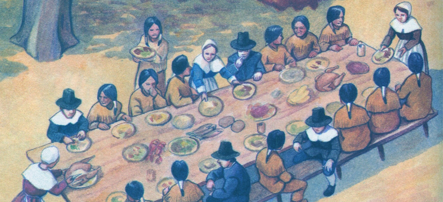 a description of thanksgiving day in the american culture Thanksgiving day thanksgiving day is a holiday celebrated by americans on the fourth thursday of november it celebrates the story of the pilgrim's meal with the native americans and is reserved as a day to spend with loved ones and for giving thanks.