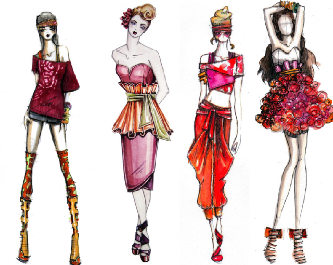 Themes for fashion designing portfolio 50